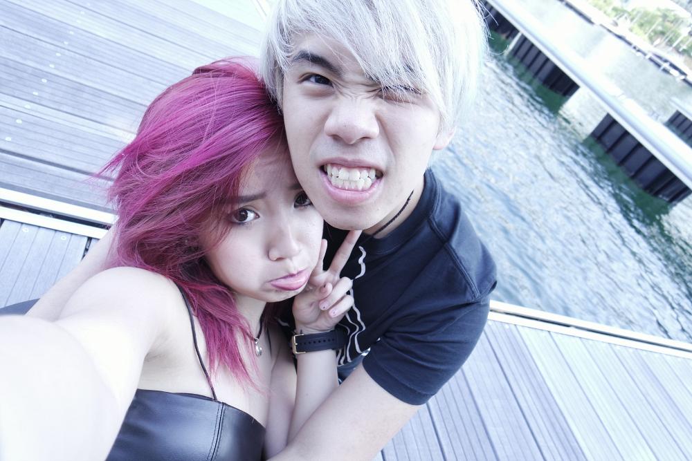 jianhao och Naomi Neo dating
