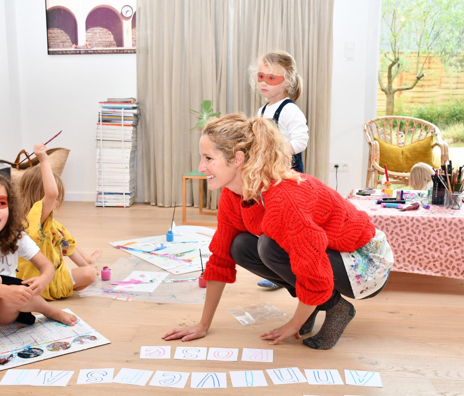 Je me déplace aussi chez vous pour l'anniversaire d'un enfant ou autres événements. 1h30 d' ateliers d'arts créatifs à la maison!