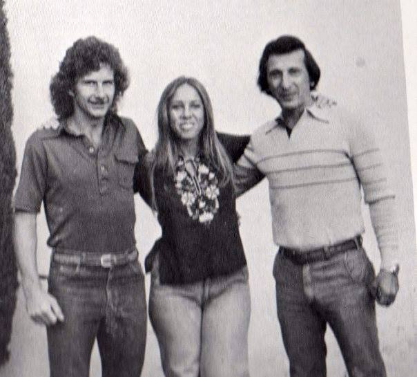 My high school art teachers: The Legends: Toby, Kim and Mario.