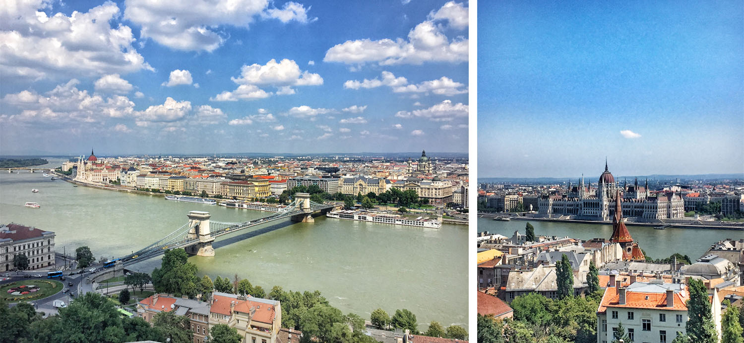 I took these two pictures in the dome of Buda Castle.