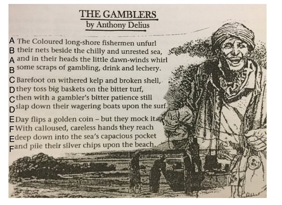 Anthony Delius - The Gamblers