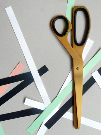 Brass Scissors from  Present & Correct
