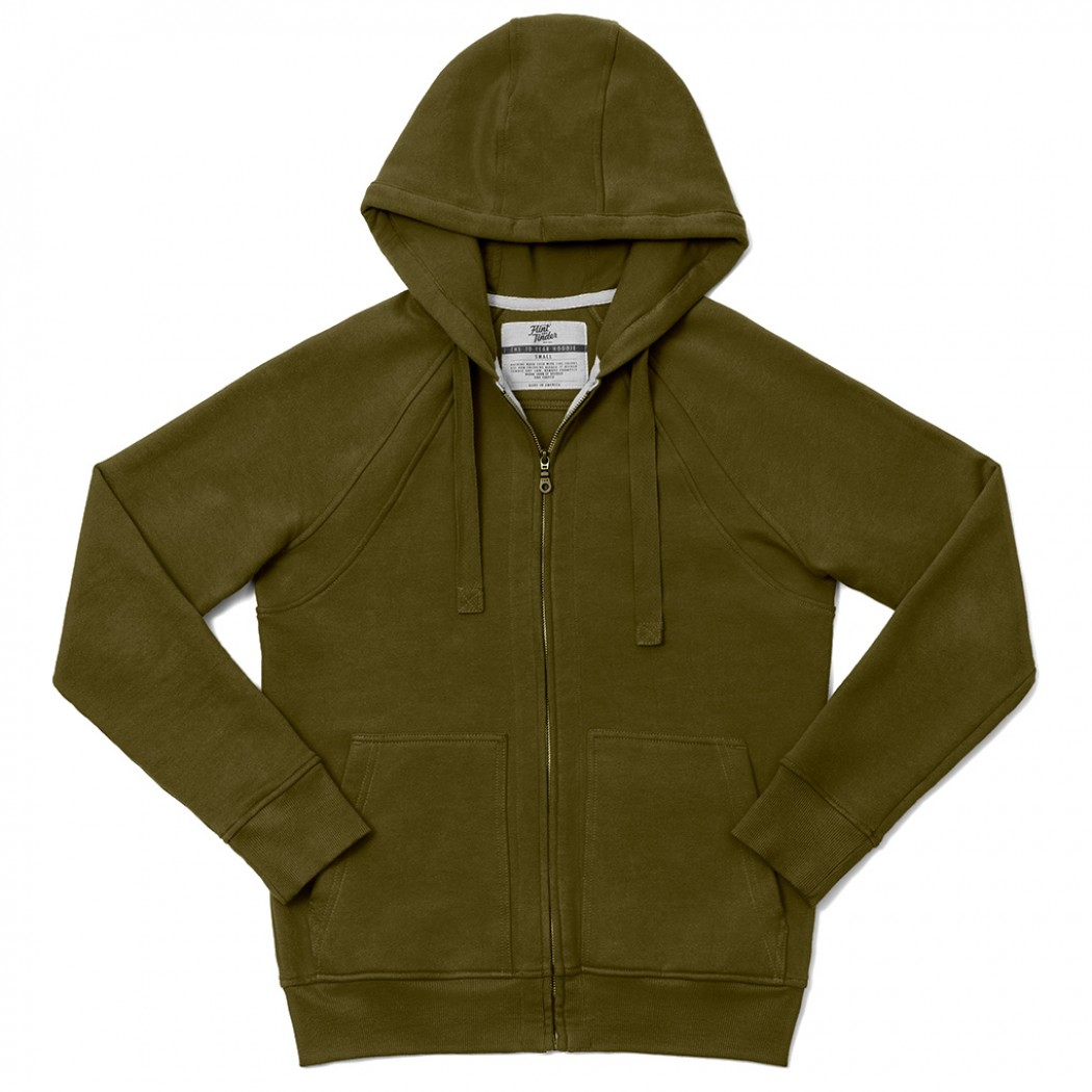 The Ten Year Hoodie from  Flint & Tinder