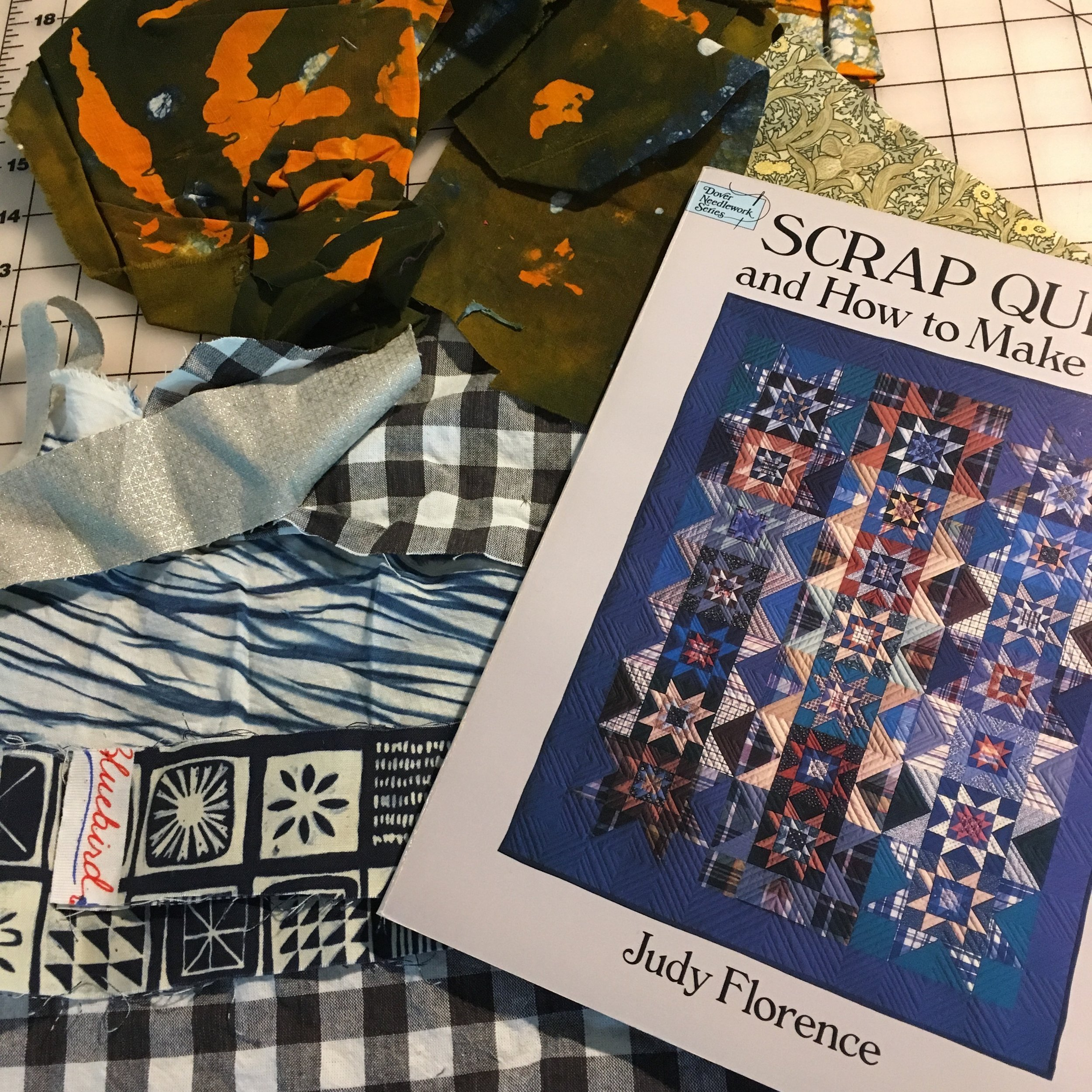 One of my favorite ways to recycle old clothes and scraps etc is by quilting.