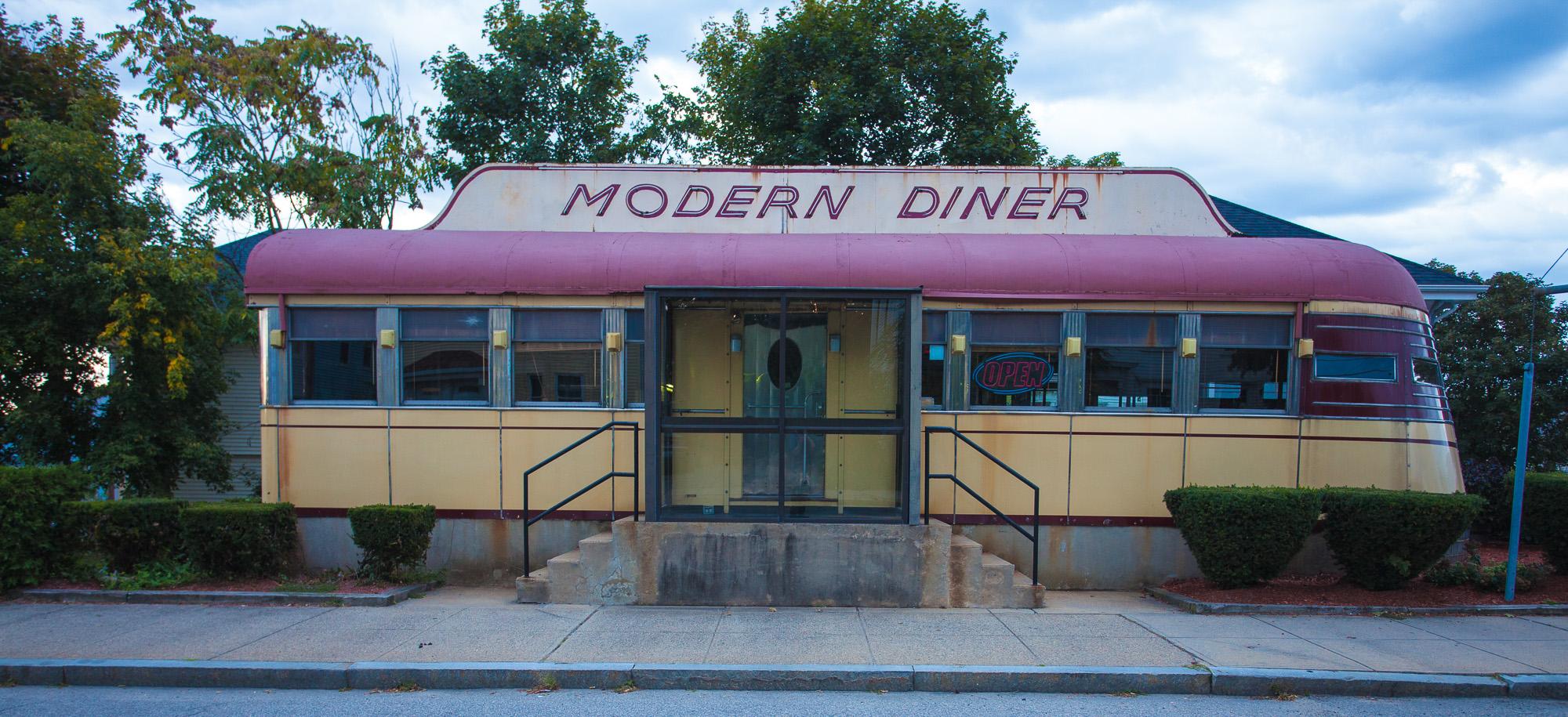 Modern Diner, Pawtucket RI