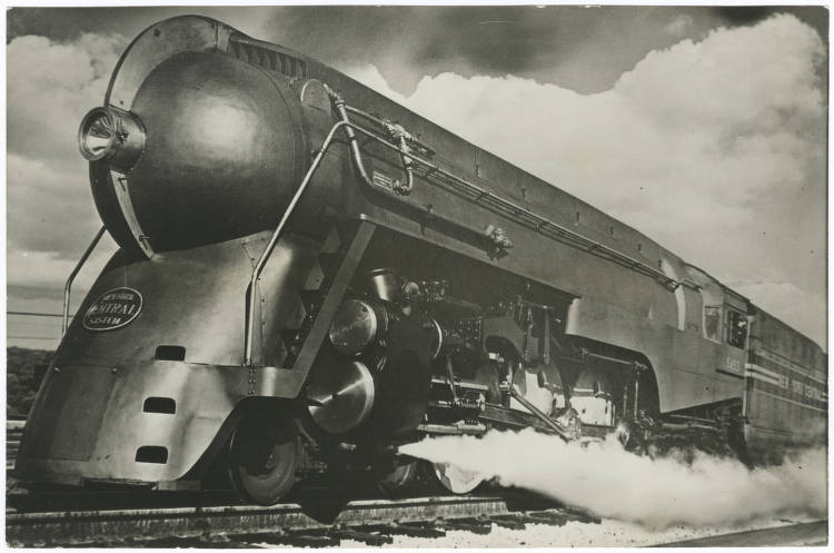 A streamline locamotive from 1938