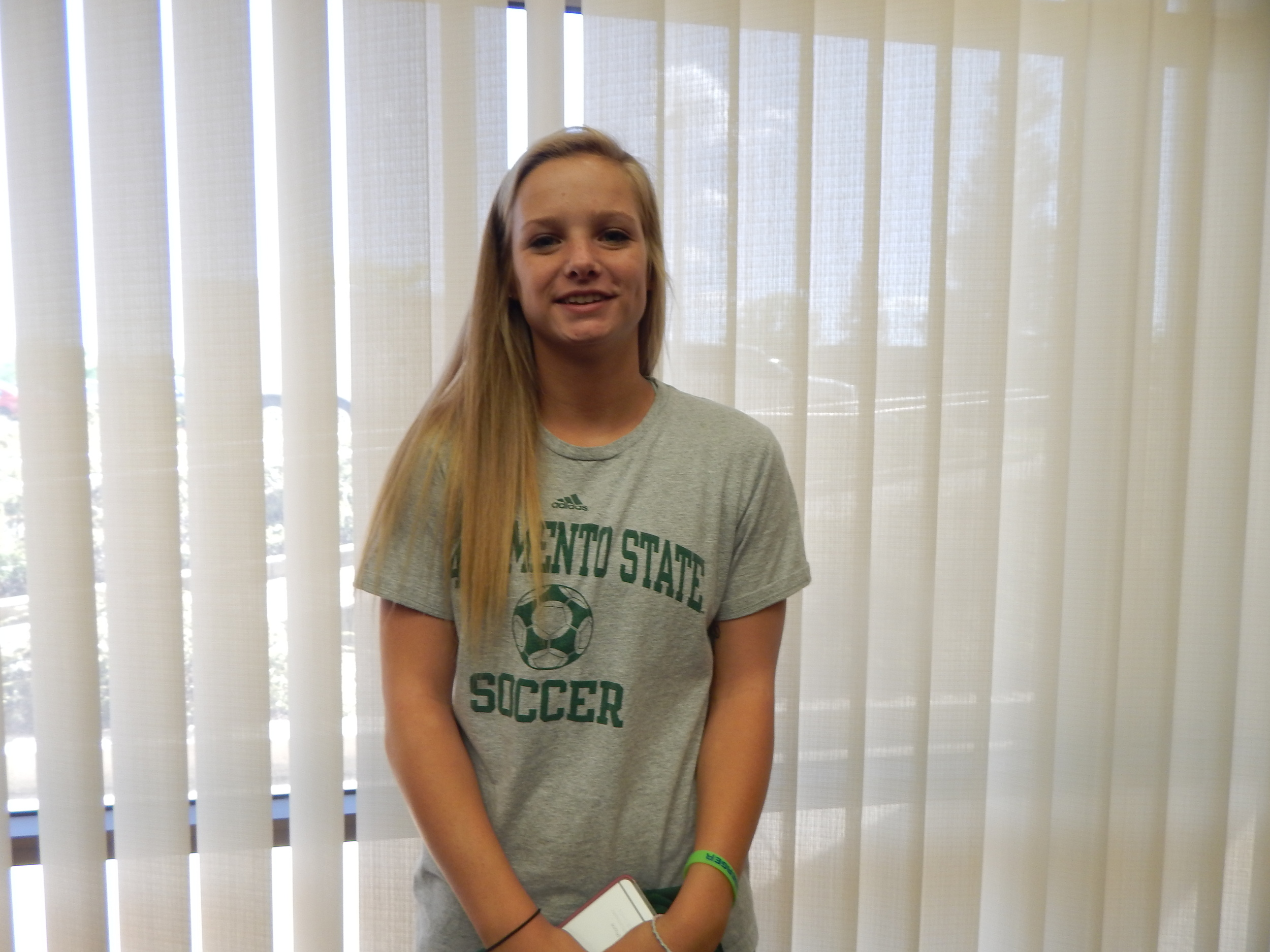 Molly McConnell was a fixture in goal for the Sierra College Women's Soccer team the last two years ( Jeremy McDonald-65 Sports)