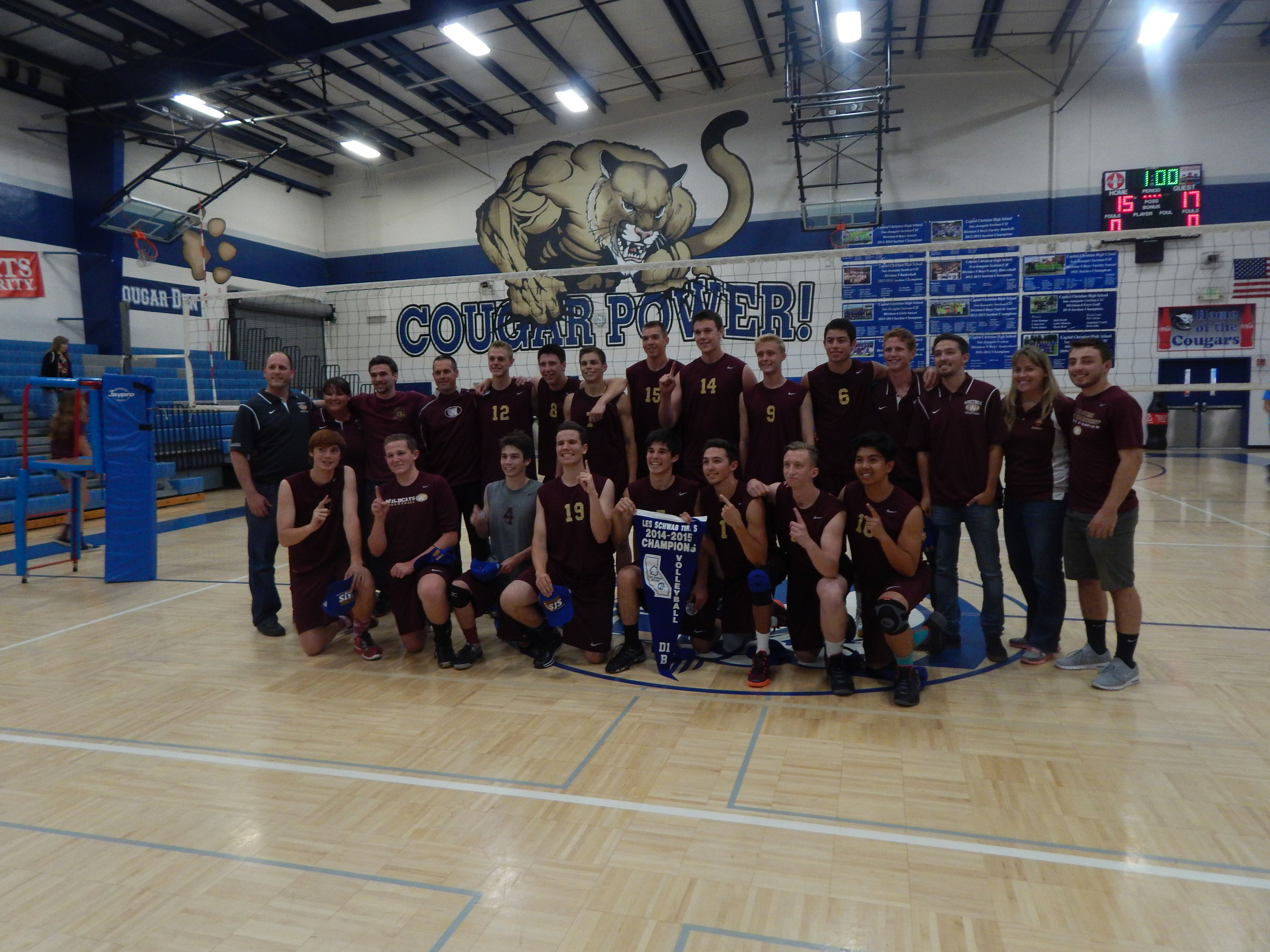 Whitney outdueled CVC-Rival Roseville in a Five-Set Thriller ( Jeremy McDonald 65 Sports)