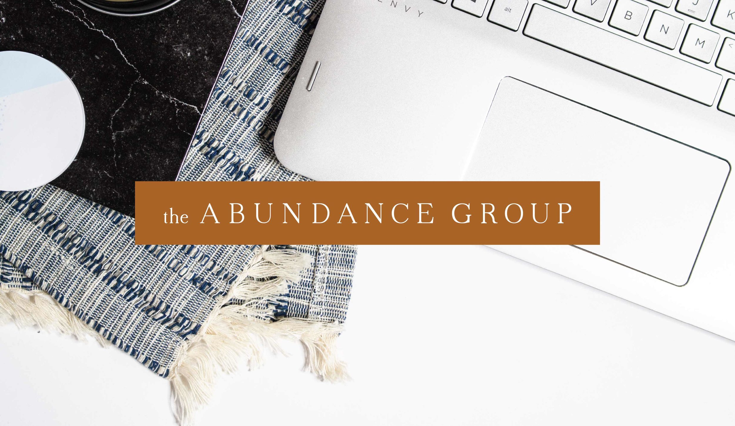 The Abundance Group Logo and Branding Design by AllieMarie Design