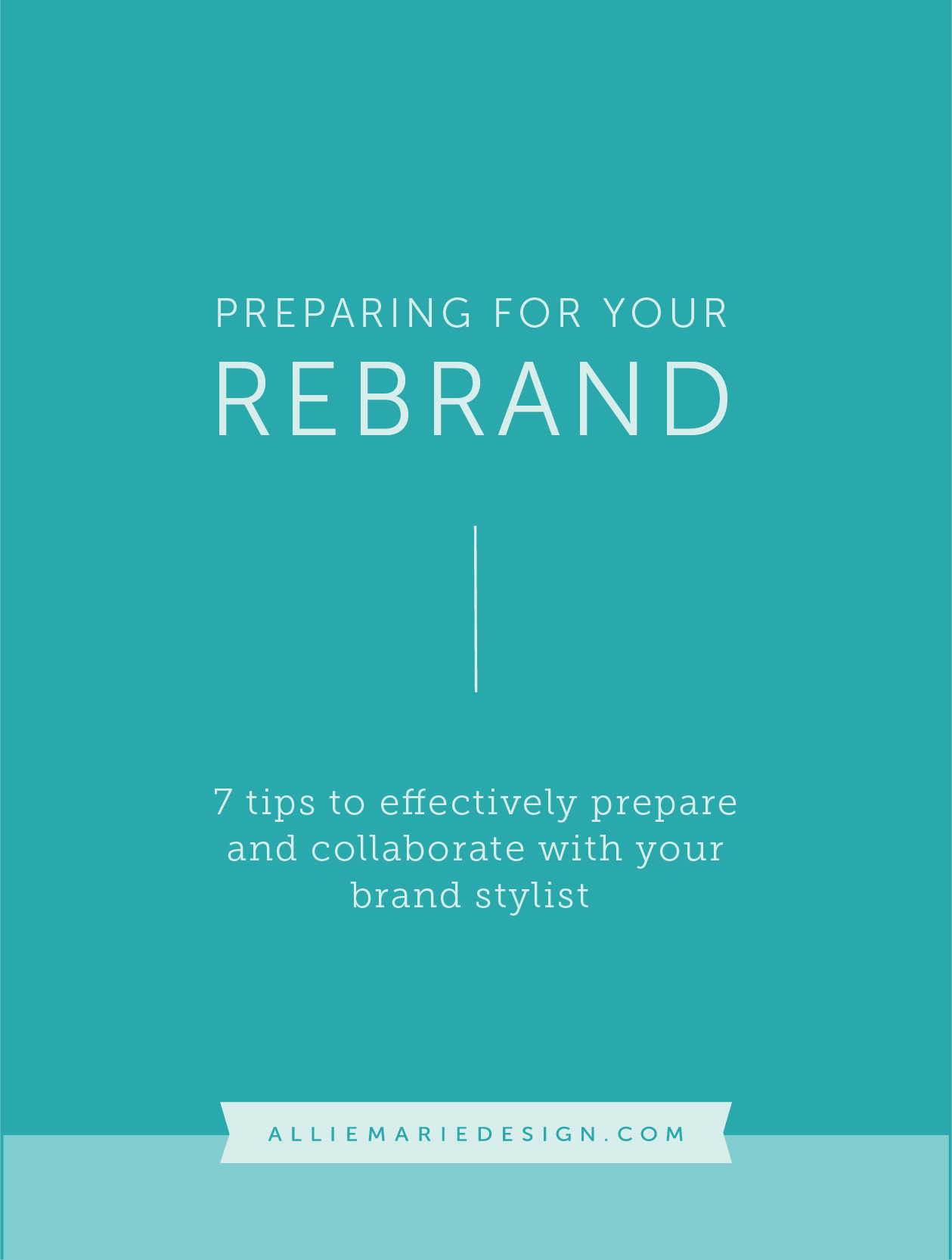 Preparing for your Rebrand: 7 tips to effectively prepare and collaborate with your brand stylist