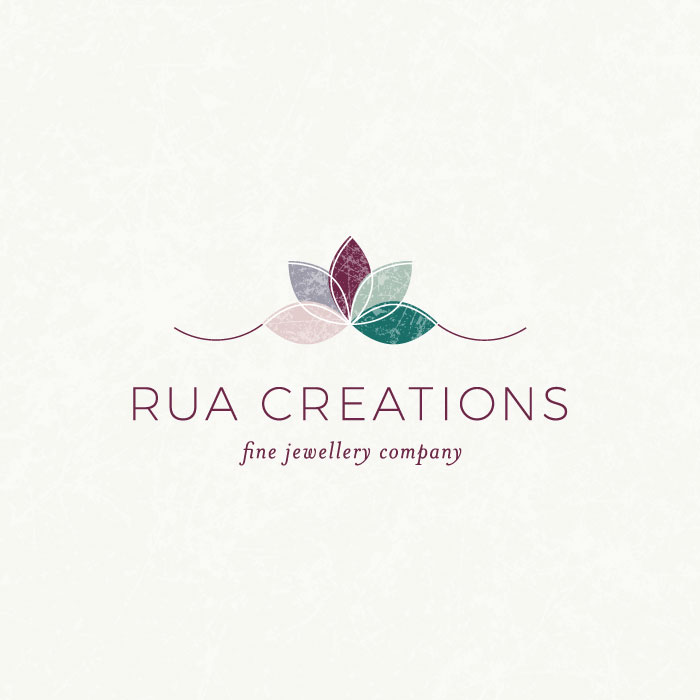 Rua Creations Fine Jewelry Company Logo Design  |  Branding by AllieMarie Design