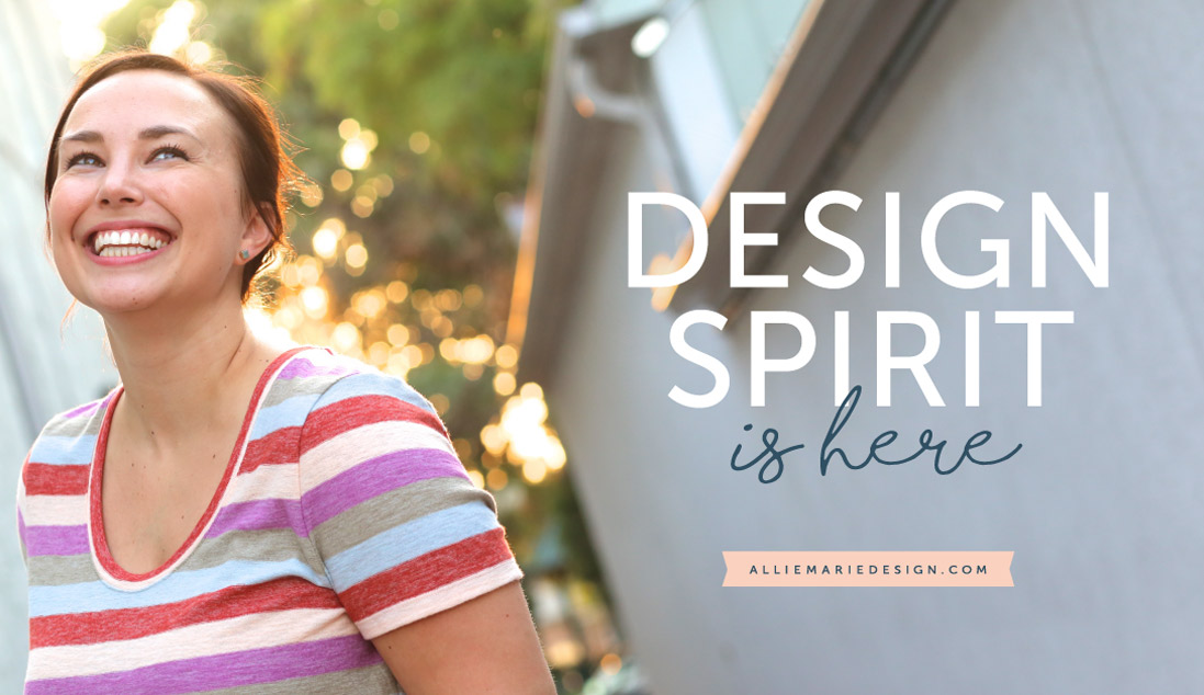 Design Spirit  |  Affordable Graphic Design Course for Small Business Owners  |   AllieMarie Design