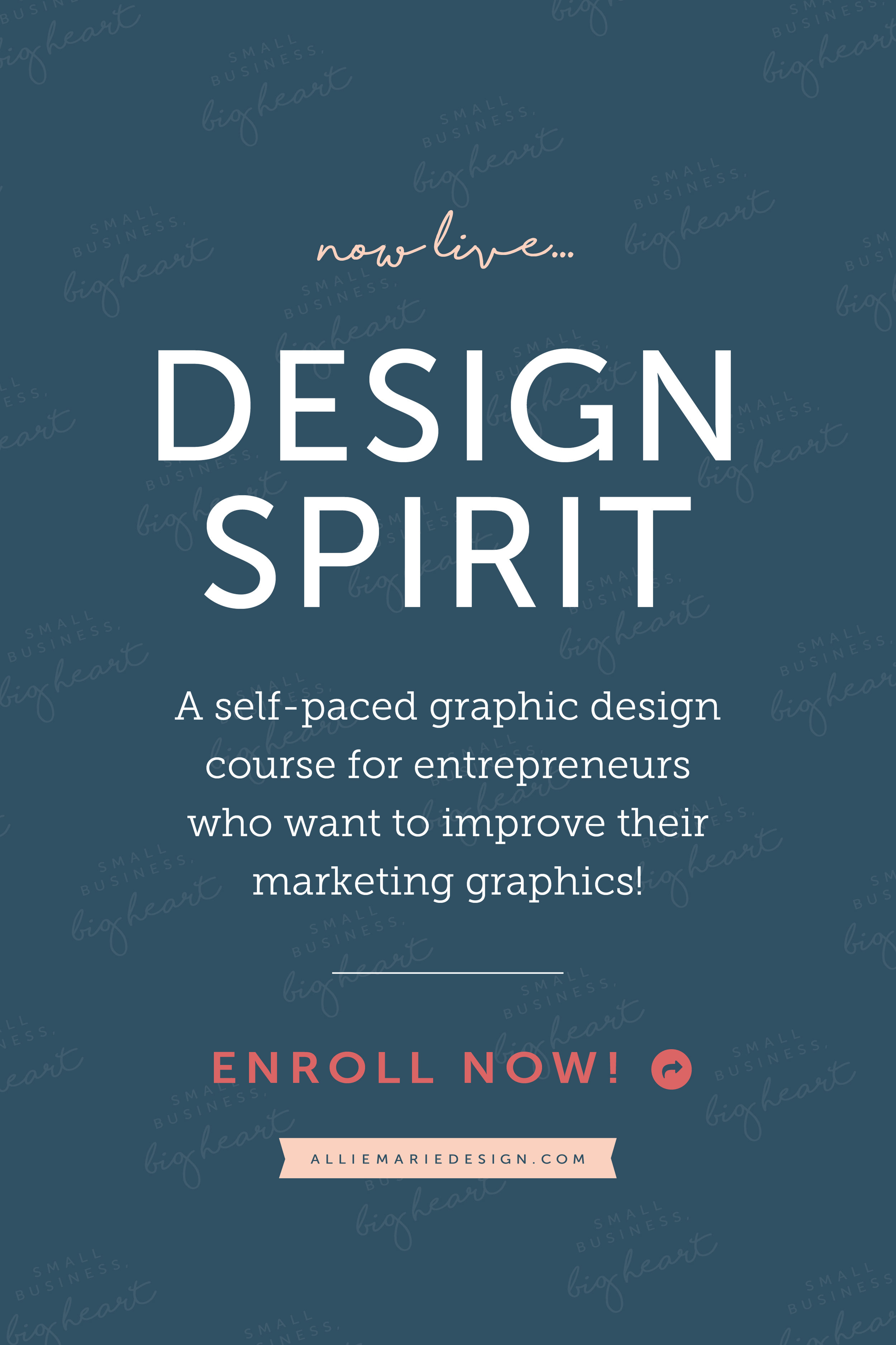 Design Spirit  |  Self-Paced Graphic Design Course for Entrepreneurs  |  AllieMarie Design