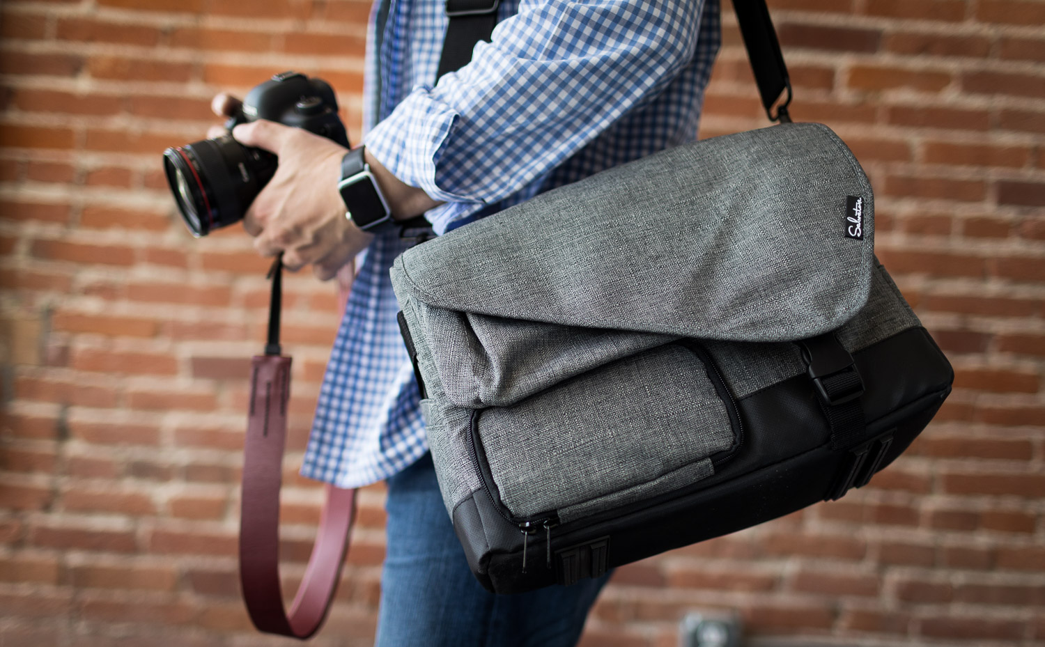 bug out bag // quality construction in our photography shoulder bag
