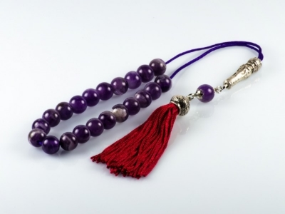 Amethyst Greek Worry Beads