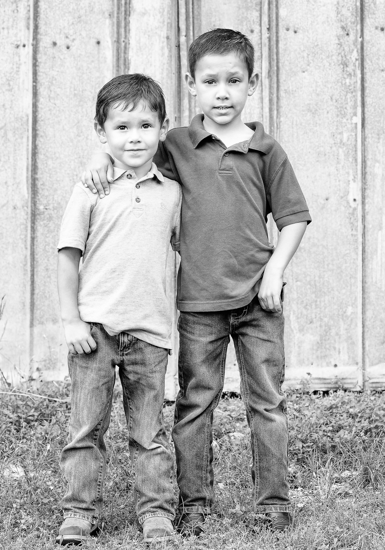 Brotherly bond.