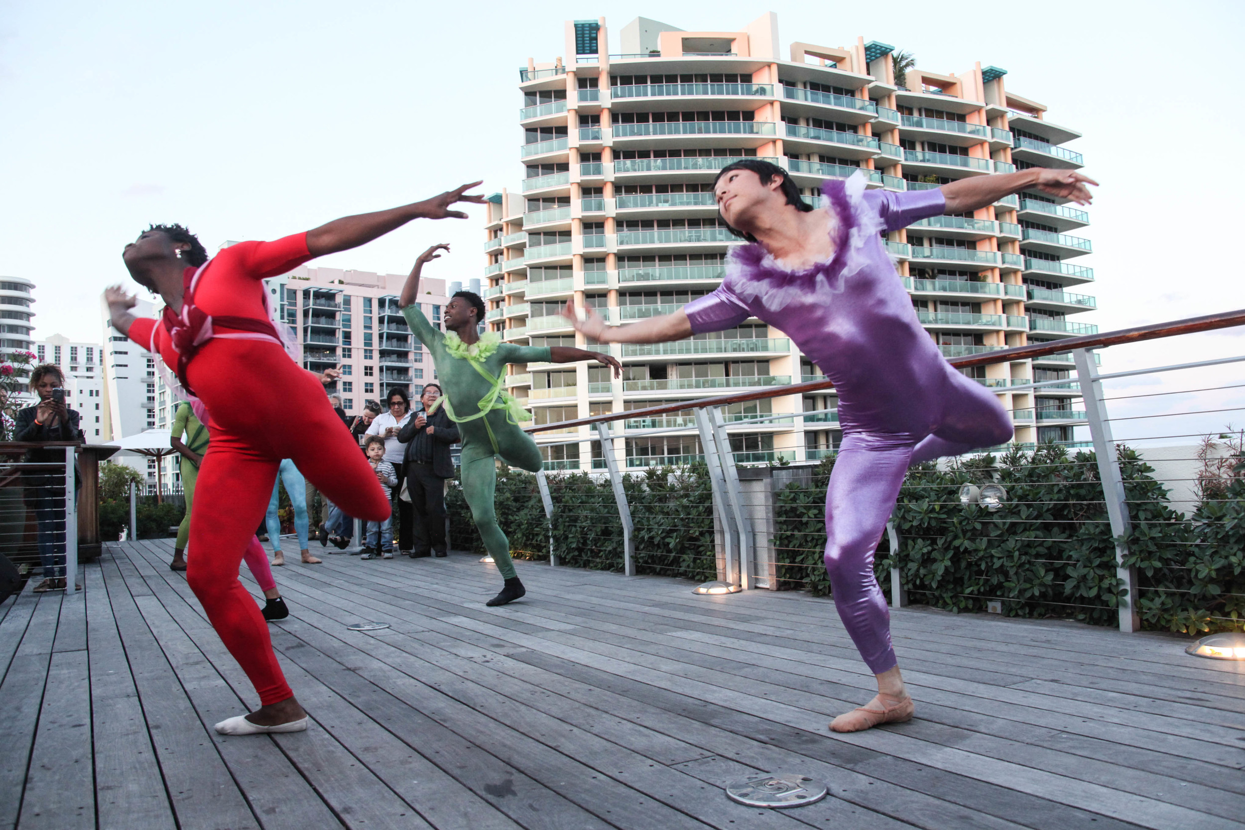 Escribe Aqui Dance Performance on the Ocean Deck.jpg