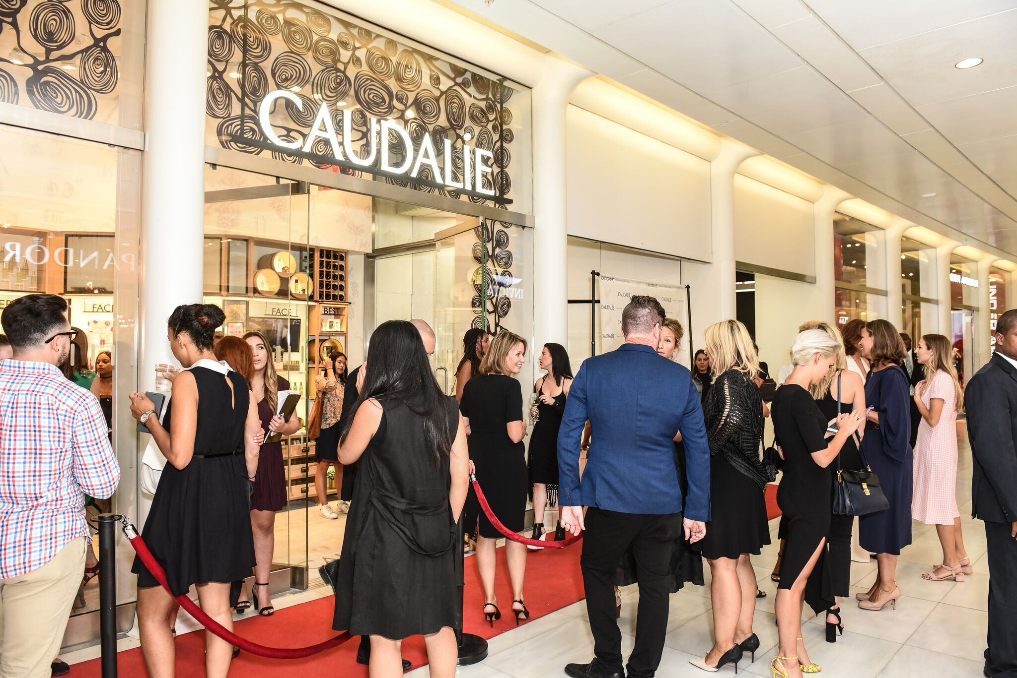 Caudalie Grand Opening at Westfield WTC