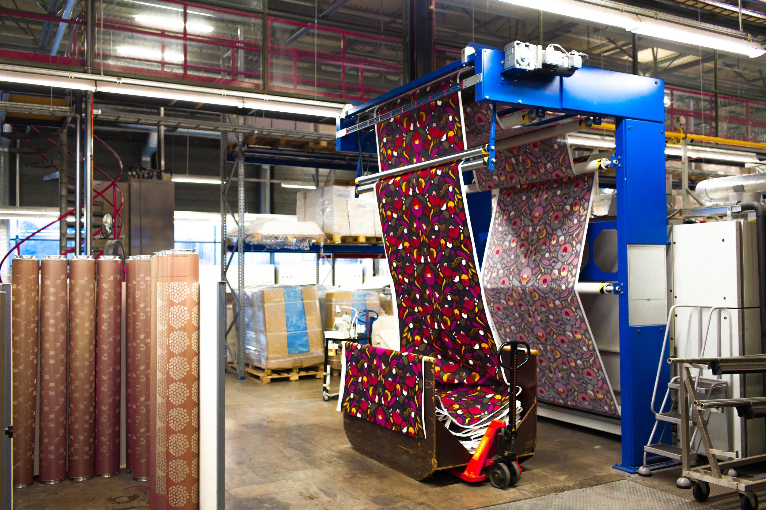 Marimekko's printing factory, Helsinki