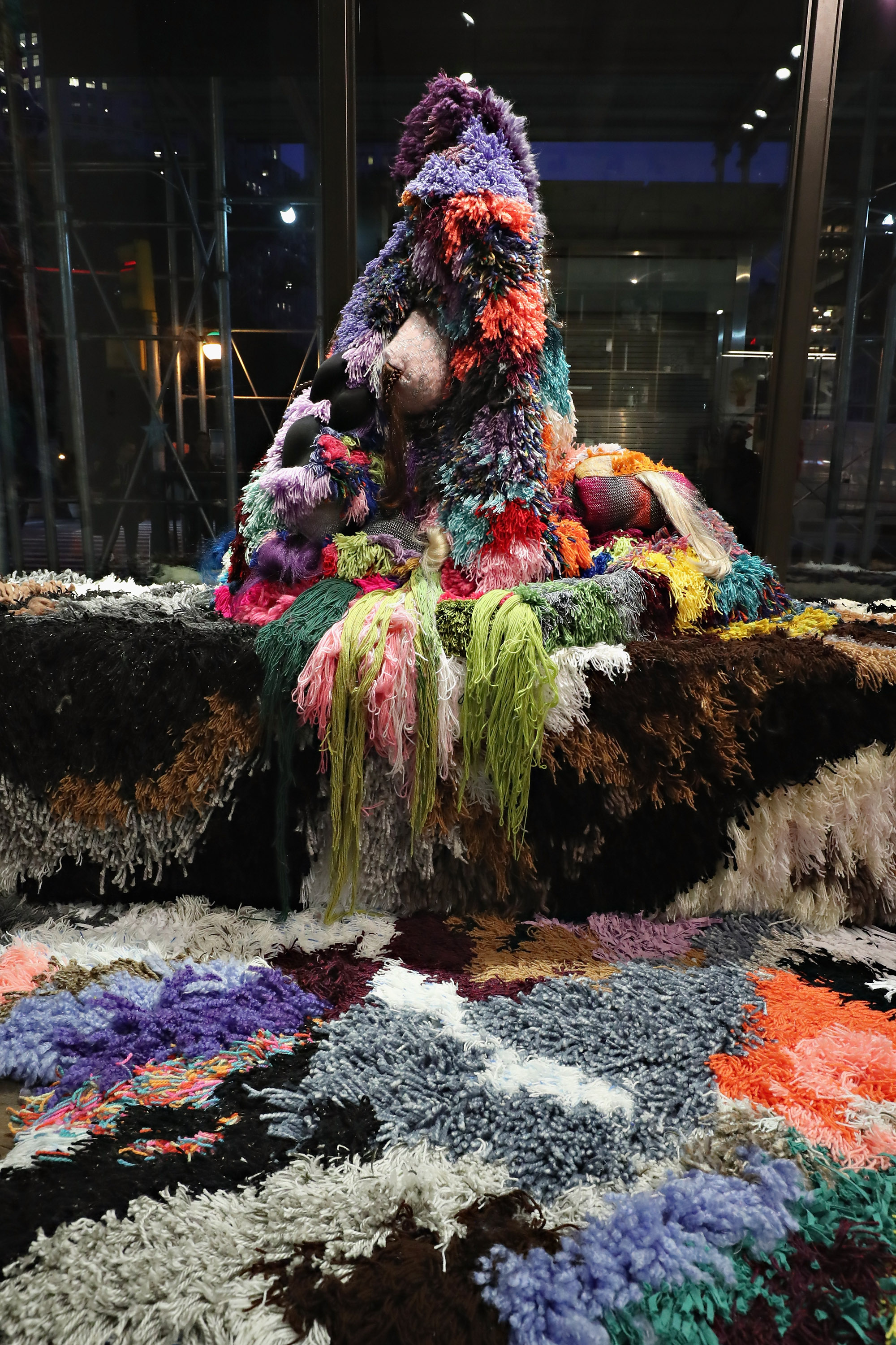 Sarah Zapata's Installation at Marimekko, NYC