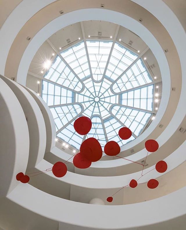 Alexandra Calder at the Guggenheim. RG @guggenheim