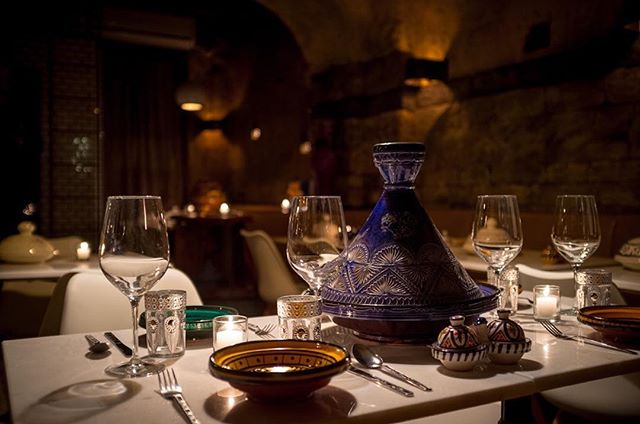 Newly-opened, modern Moroccan food in an enchanting space, courtesy of @chouchounyc. Our favorites: any one of their savory tagines, cous cous, and fresh mint tea.