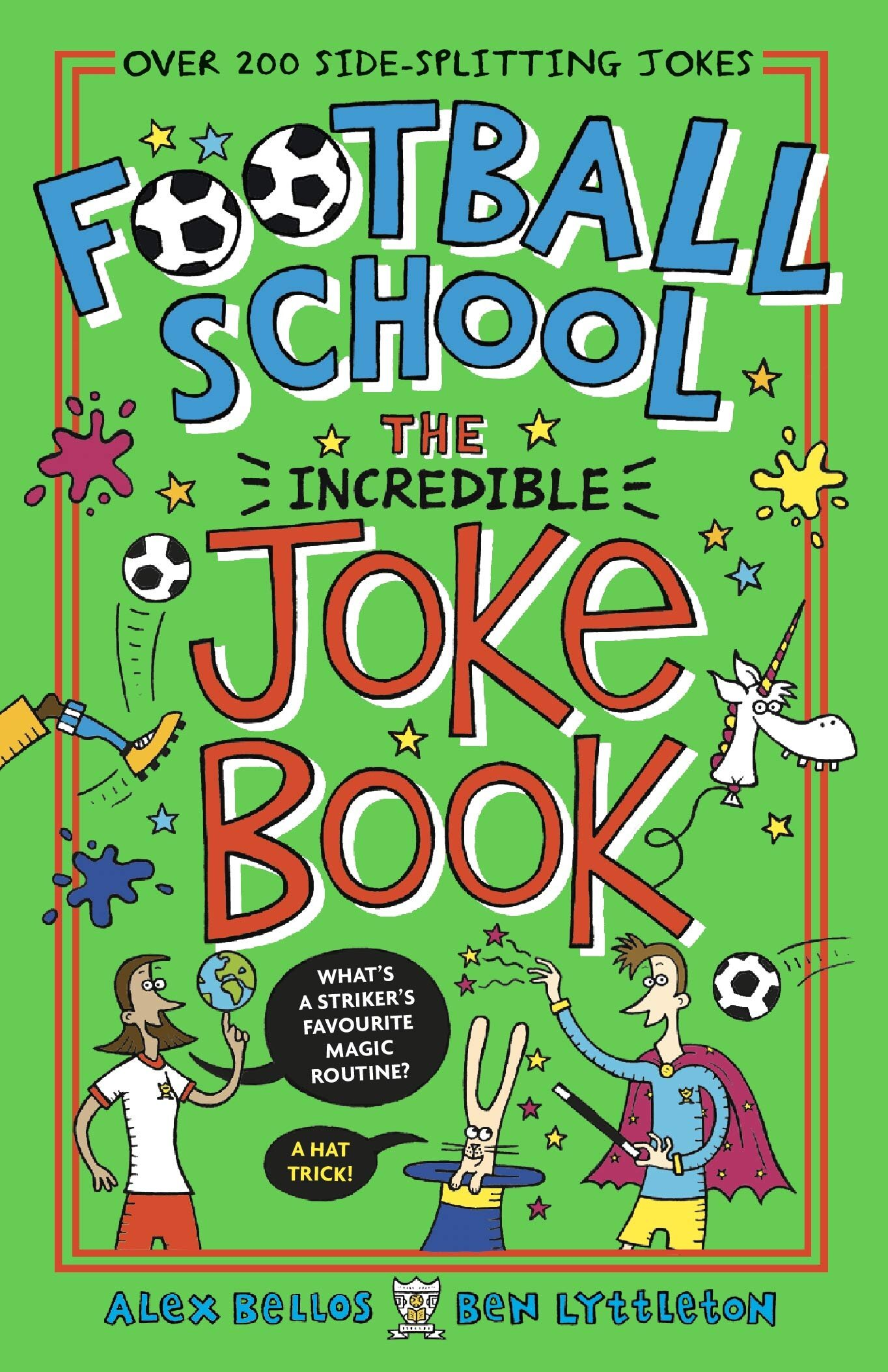 JOKE BOOK - Our latest title, the Incredible Joke Book, will be out on November 7.