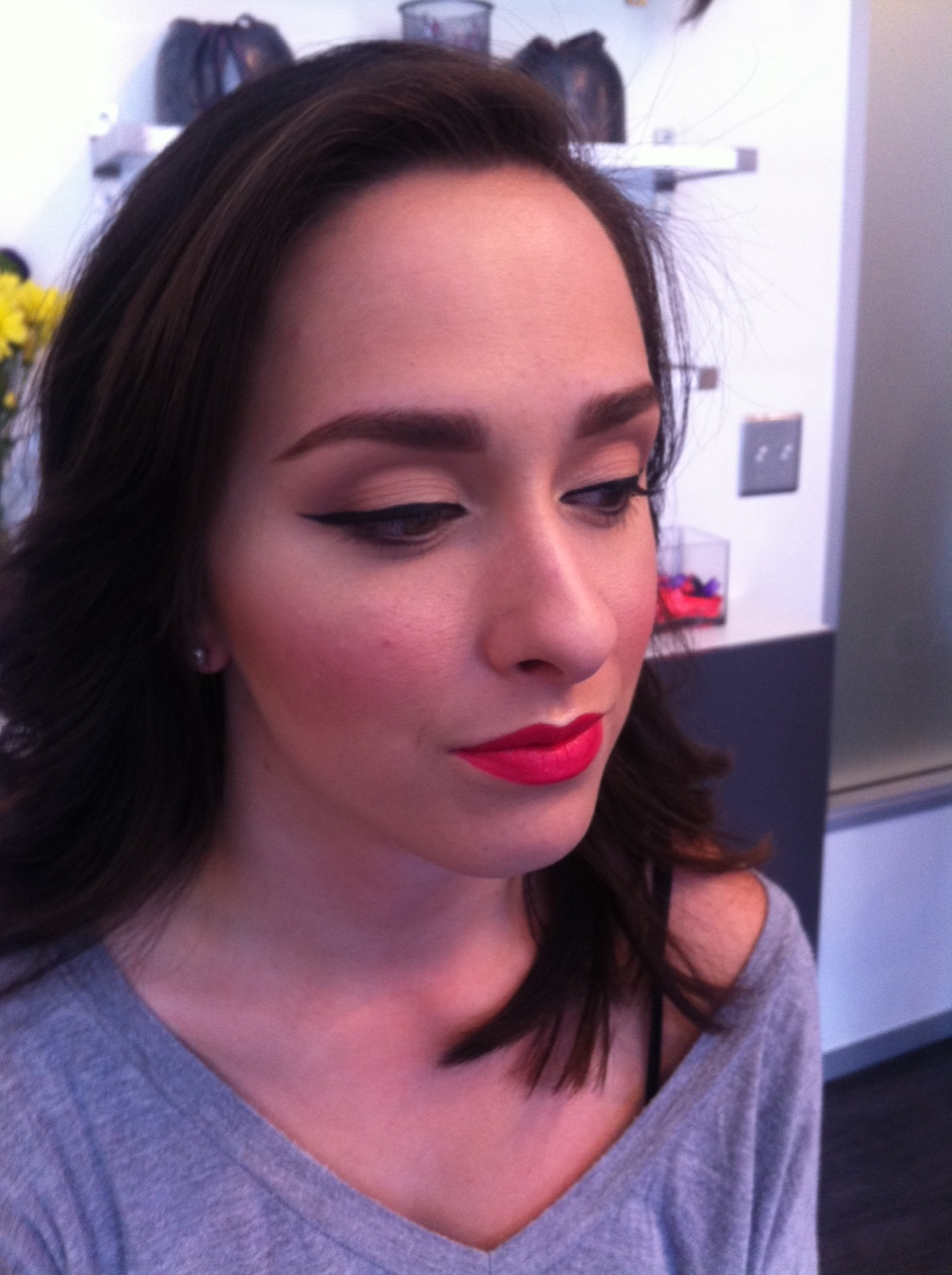 Makeup on Abby for my Glamsquad Audition