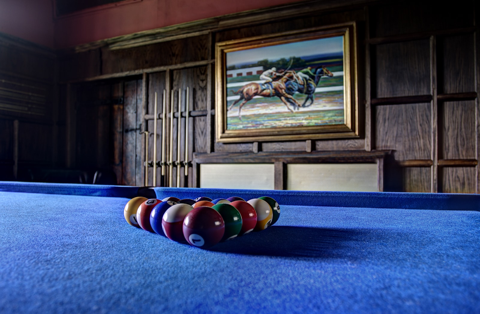 Luxury Pool Table at The Manor House Somerset