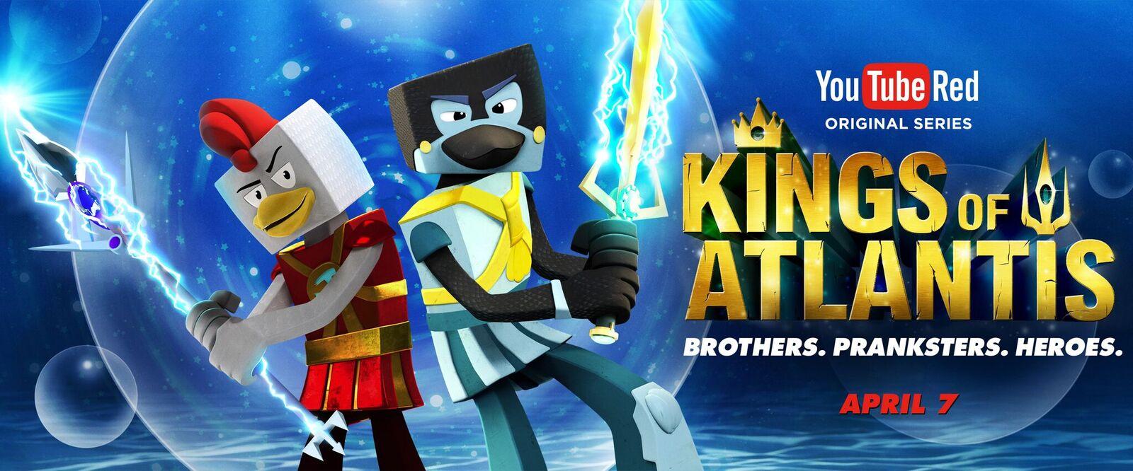 New YouTube Red Original Series  Kings of Atlantis .