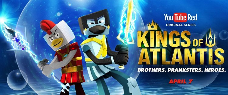 New YouTube Red Original Series    Kings of Atlantis   .
