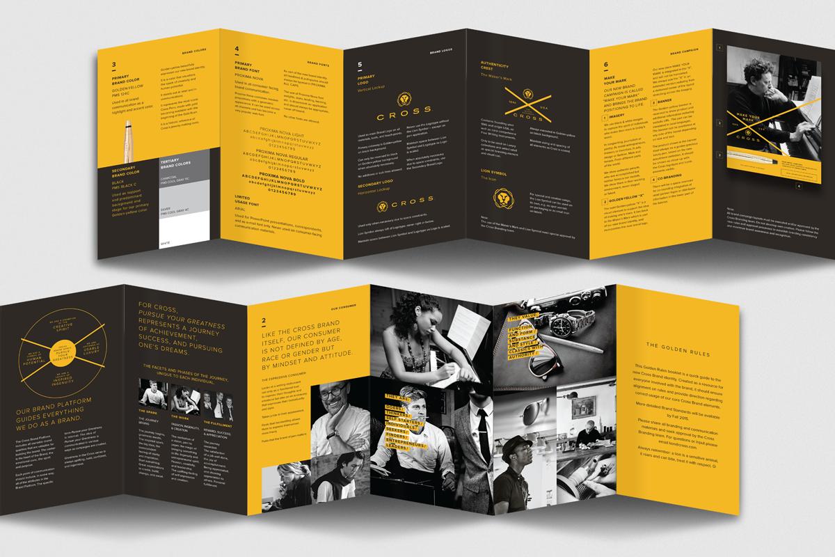Brand standards booklet.