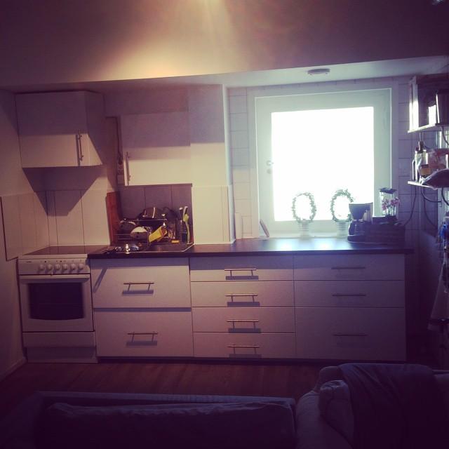 Ett av våra nyrenoverade kök. #svenskaföreningen #oslo