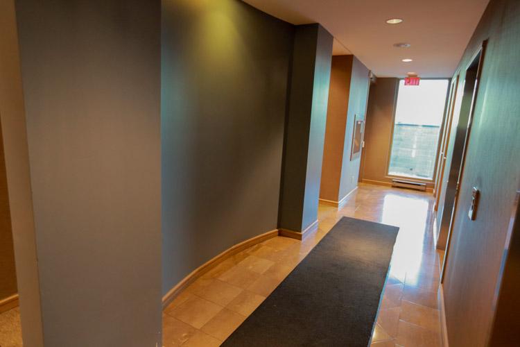 Blue Ant Media - Second Floor Elevator Hallway - Before