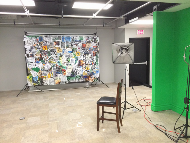 First Floor Youtube Shooting Studio