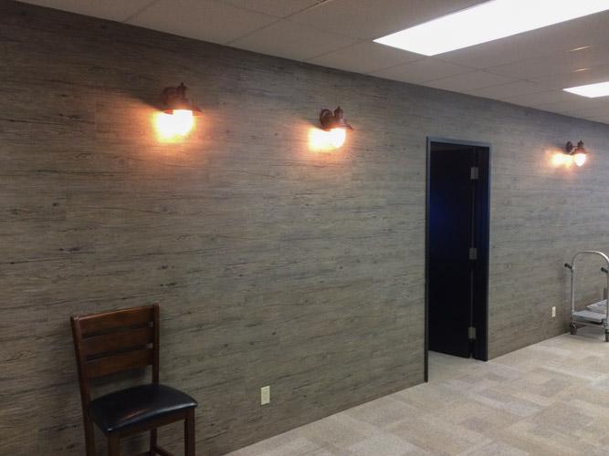 First Floor Studio Wall Treatment