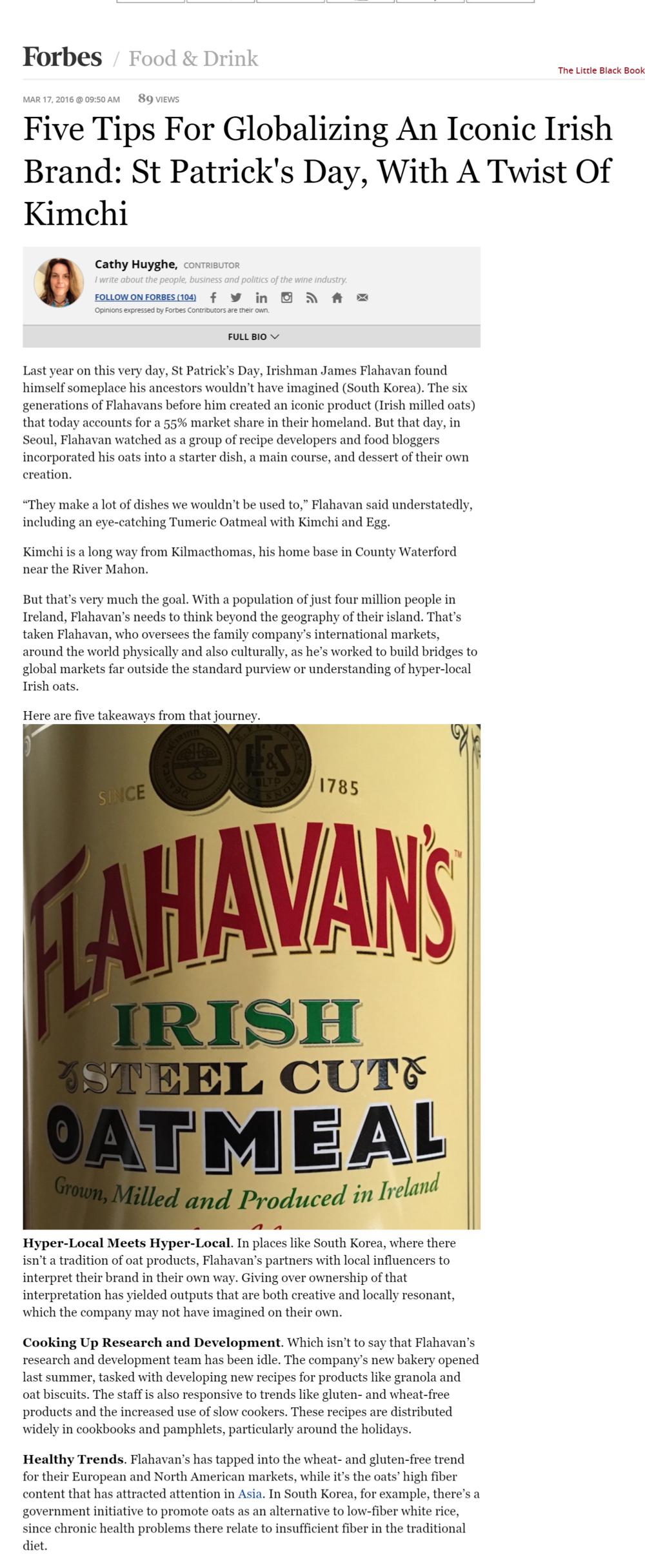 Flahavans-Forbes