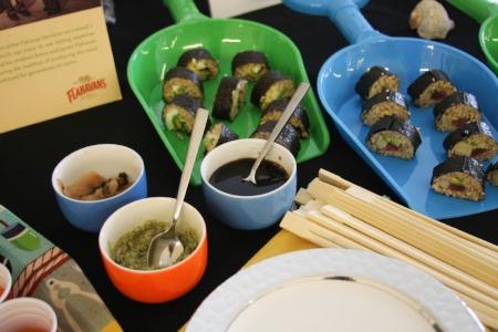 Flahavan's Steel Cut Oat Sushi