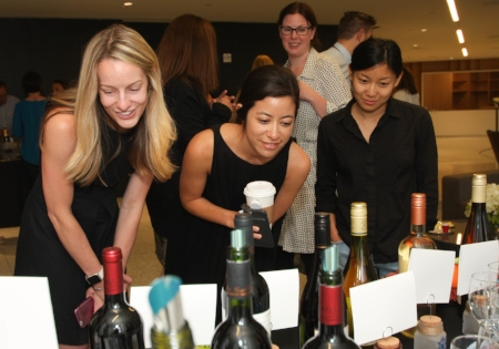 InStyle Magazine team at the Wines Of Chile station