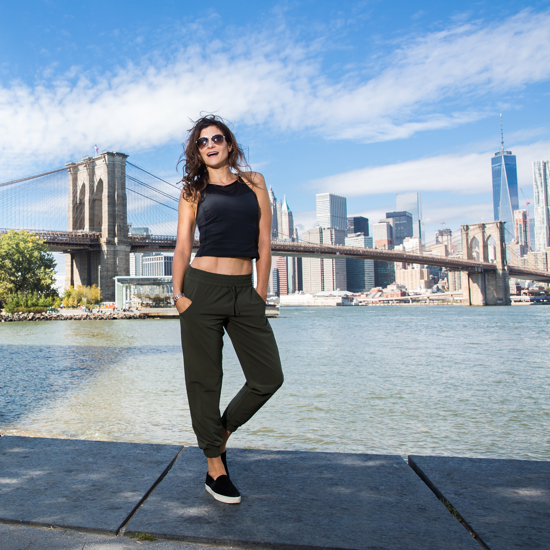 Wearing: the 'Do Everything Cuffed Pant' by Lucy Activewear