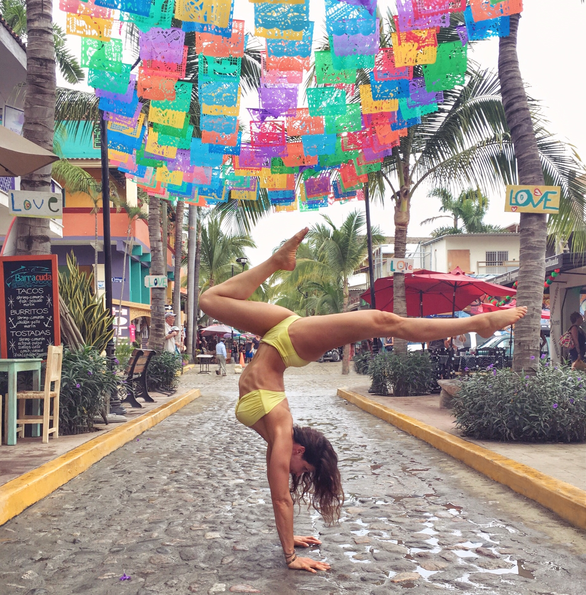 Handstands in Sayulita