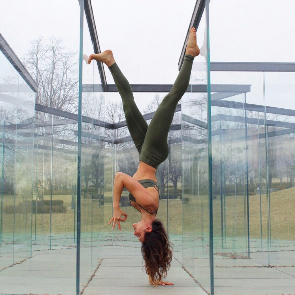 Hanging out in the 'Glass Labyrinth' exhibit at The Nelson-Atkins Museum of Art in Kansas City