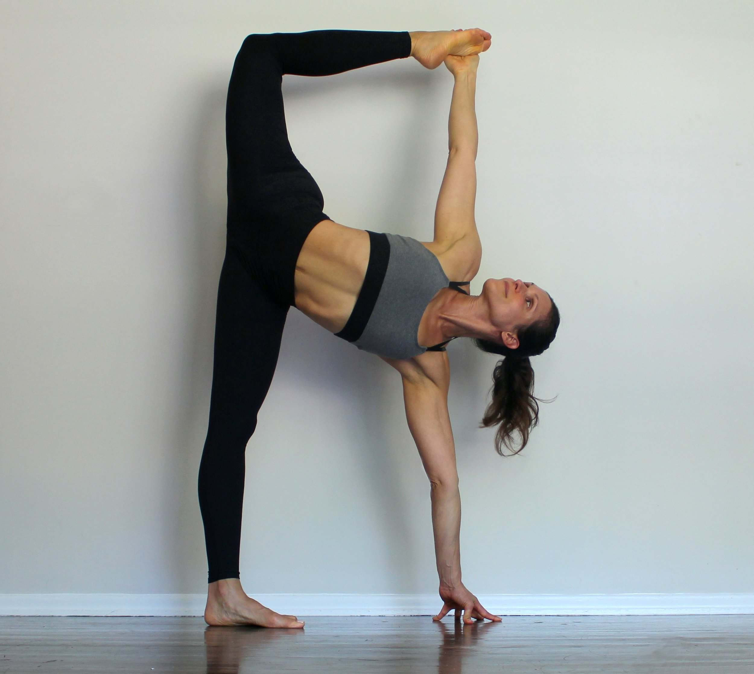 Half Moon Dancer Pose
