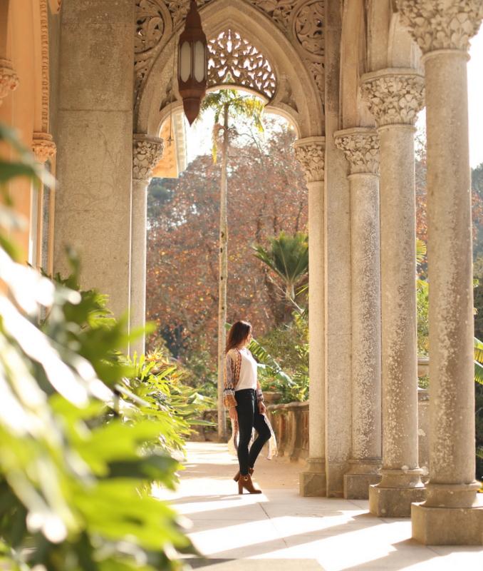 Exploring the beautiful Palace of Monserrate