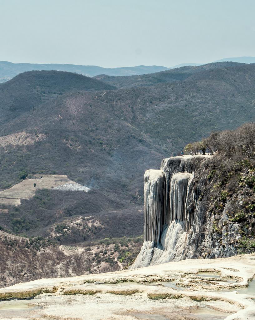 Petrified Waterfall at Hierve El Agua