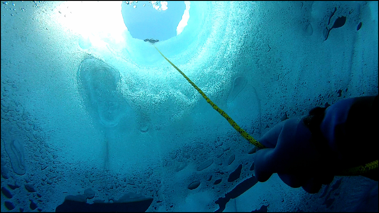 February 26, 2013    Into the Blue   Role: Video Editor   Michael Becker, a researcher from McGill University, took a camera along during a dive to the bottom of an Antarctic lake.  View Video