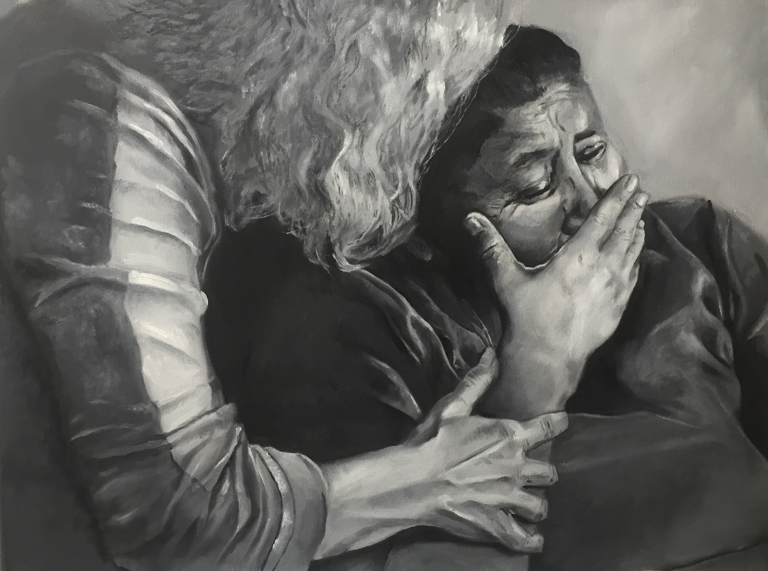 Original painting by Emma Catherine McAllister, 2017.