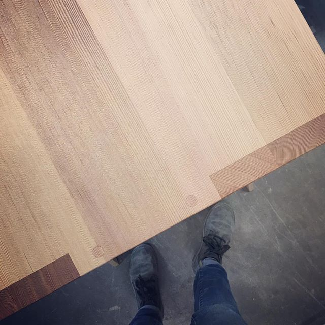 Tasty joinery and dusty boots