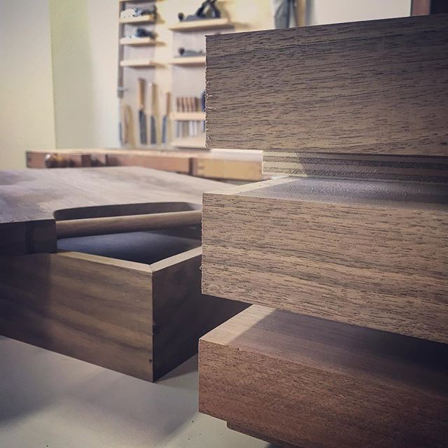 Pretty walnut everywhere. Putting together some fun stuff for the holidays