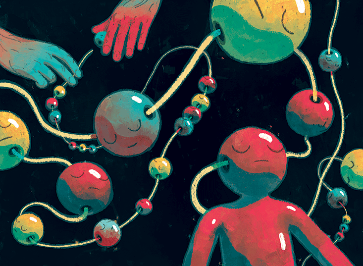 Illustration by Richie Pope. Originally for  Nautilus Magazine .